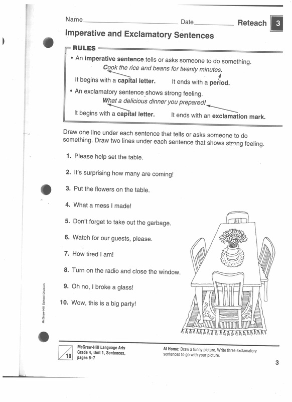 61 Traits Series Conventions Sentence Fluency Grammar 101 – Editing Worksheets 4th Grade
