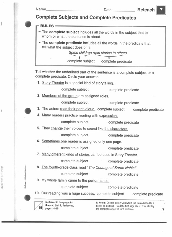 Worksheet 4th Grade Grammar Worksheets 61 traits series conventions sentence fluency grammar 101 picture